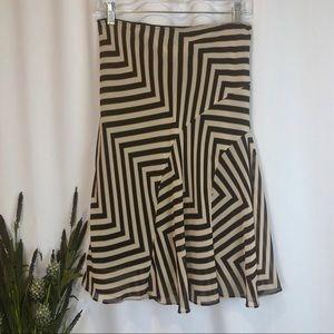 EUC Zara Basic Flounce Skirt w/ Lining⭐️
